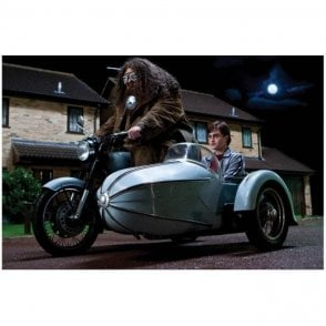 Corgi Harry Potter Hagrid's Motorcycle & Sidecar Model ( Scale TBC)