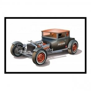 AMT 1:25 1925 Ford T 'Chopped' Model Kit