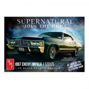 AMT 1:25 1967 Chevy Impala from Supernatural Model Kit