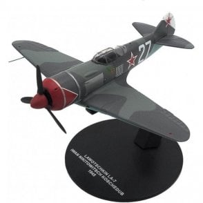 Atlas Editions 1:72 Lavochkin La-7 Soviet Air Force, Ivan Kozhedub, USSR, 1945 Model Plane