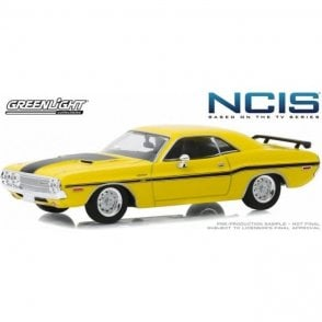 Greenlight 1:43 NCIS (2003-Current TV Series) - 1970 Dodge Challenger R/T Diecast Car