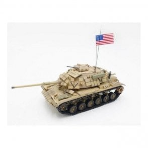 Precision Model Art 1:72 M60A 1 Rise with Era USMC SADDAMIZER