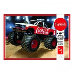 AMT 1:25 1988 Chevy Silverado Monster Truck (Coca-Cola) Model Kit