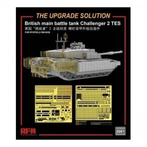 Rye Field Model 1:35 Upgrade Etch Parts Set for Challenger 2 TES RM5039 Military Model Kit