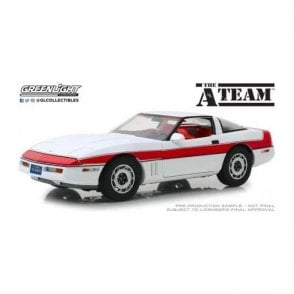 Greenlight 1:18 The A-Team (1983-87 TV Series) - 1984 Chevrolet Corvette C4 Diecast Car