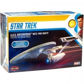 Polar Lights 1:1000 U.S.S. Enterprise - Wrath of Khan Model Kit