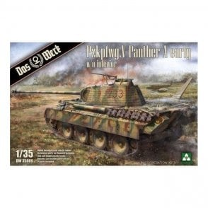 Das Werk 1:35 Pzkpfwg.V Panther Ausf.A Early Military Model Kit