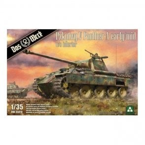 Das Werk 1:35 Pzkpfwg.V Panther Ausf.A Early / Mid Military Model Kit