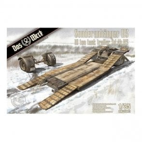 Das Werk 1:35 Sonderanhanger 115 10 Ton Tank Trailer Military Model Kit