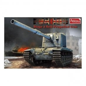 Amusing Hobby 1:35 FV4005 Stage 2 Self Propelled Gun Tank Military Model Kit