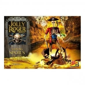 Linberg 1:12 Jolly Roger Series: The Shining Spoils of the Scallywag Figure Kit