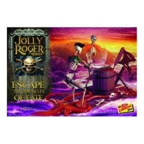 Linberg 1:12 Jolly Roger Series: Escape the Tentacles of Fate Figure Kit