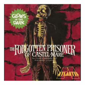 Atlantis Models 1:8 The Forgotten Prisoner of Castel Mare – GITD Figure Kit