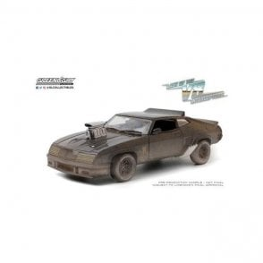 Greenlight 1:24 1973 Ford Falcon XB Last of the V8 Interceptors - 1979 MADMAX Weathered Version Diecast Car