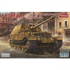 Amusing Hobby 1:35 Sd.Kfz.184 Elefant Heavy tank destroyer Military Model Kit