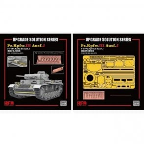 Rye Field Model 1:35 Upgrade Etch Parts Set For RM5070 Panzer III Ausf.J Military Model Kit