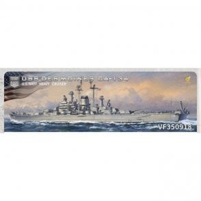 Very Fire 1:350 USS Des Moines CA-134 US Navy Heavy Cruiser Model Ship Kit