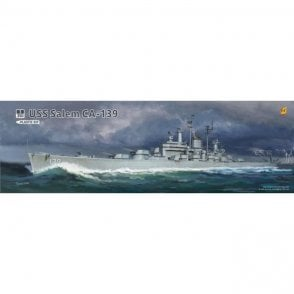 Very Fire 1:350 USS Salem CA-139 US Navy Heavy Cruiser Model Ship Kit