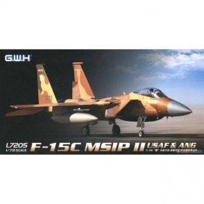 Great Wall Hobby 1:72 F-15C Eagle MSIP II USAF & ANG Aircraft Model Kit