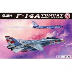 Great Wall Hobby 1:72 F-14A Tomcat US Navy Aircraft Model Kit