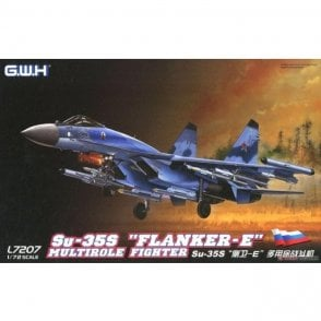 "Great Wall Hobby 1:72 Su-35S ""Flanker E"" Multirole Fighter Aircraft Model Kit"