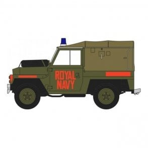 Oxford Diecast 1:43 Royal Navy Land Rover Lightweight Model Car