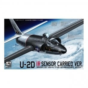 AFV Club 1:48 U-2D Dragon Lady IR Sensor Carried Ver. Aircraft Model Kit