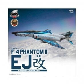 Zoukeimura 1:48 Super Wing Series F-4EJ Kai Phantom II Phantom Forever 2020 (JASDF Retirement Markings) Aviation Kit