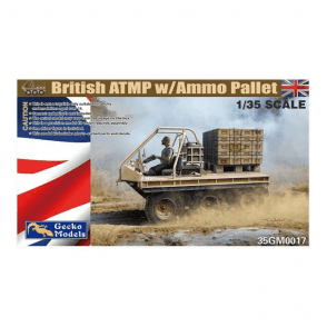 Gecko Models 1:35 British ATMP w\Ammo Pallet Military Model Kit