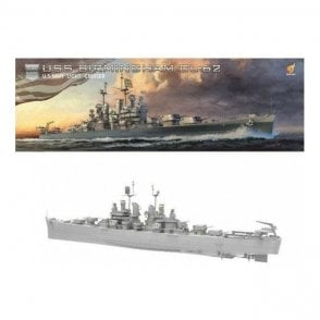 Very Fire 1:350 USS Birmingham US Navy Light Cruiser CL-62 Model Ship Kit