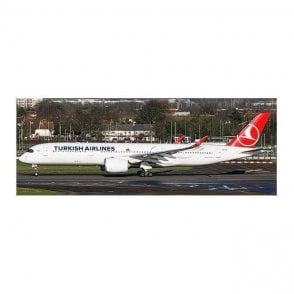 JC Wings 1:400 Airbus A350-900 Turkish Airlines (Flaps Down) Reg - TC-LGA (With Antenna)