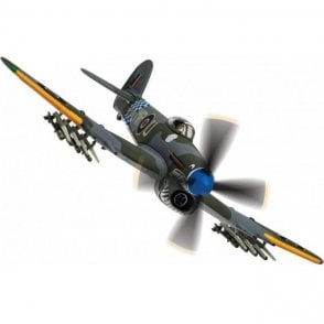 Corgi 1:72 Hawker Typhoon IB MP147, 'Sharky' Flt. Lt. Harrison Taylor 'Moose' Mossip, RAF No.245 Squadron, August 1944