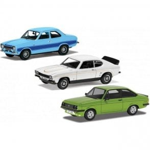 Corgi Vanguards 1:43 1970s Ford RS Collection