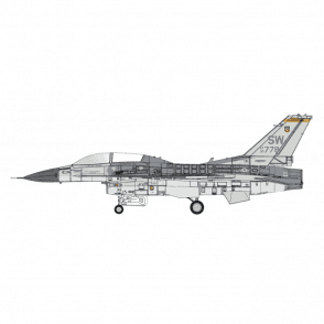 Calibre Wings 1:72 F-16 USAF 19th FS ' MIG KILLER ' DEC 1992