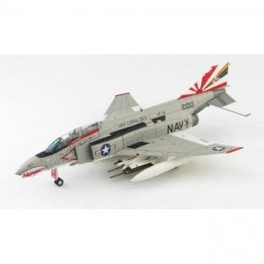 "Hobby Master 1:72 F-4B Phantom II 200, VF-111 ""Sundowners"", USS Coral Sea, 1970s"