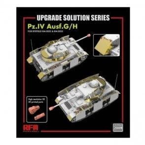 Rye Field Model 1:35 Upgrade Etch Parts Set For RM5055 & RM5053 Pz.Kpfw.IV Ausf.G/H Military Model Kit