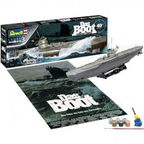 "Revell 1:144 Gift Set ""Das Boot"" Movie 40th Anniversary Model Kit"