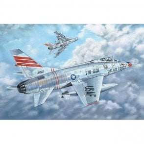 Trumpeter 1:32 03221 F-100C Super Sabre Aircraft Model Kit