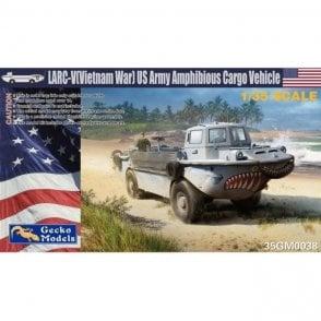 Gecko Models 1:35 US Army amphibious cargo vehicle (Vietnam War version) Truck Military Model Kit