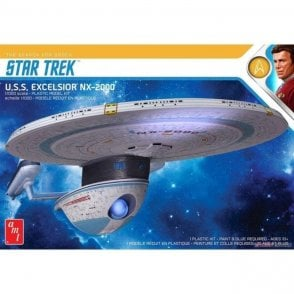 AMT 1:1000 Star Trek U.S.S. Excelsior Model Kit