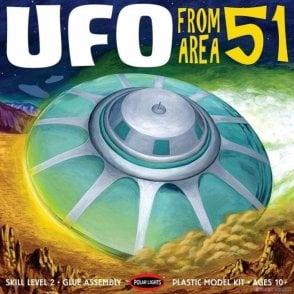 Polar Lights 1:48 Area 51 UFO Model Kit