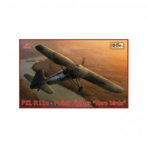 "IBG 1:32 PZL P.11c Polish Fighter - ""Rare Birds"" Aircraft Model Kit"