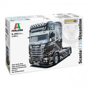Italeri 1:24 Scania R730 Streamline - Show Trucks Truck Model Kit