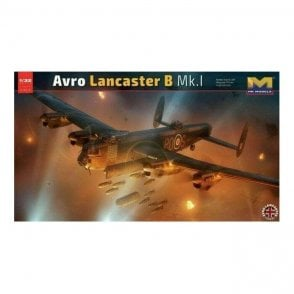 Hong Kong Models 1:32 Avro Lancaster B Mk. 1 Aircraft Model Kit