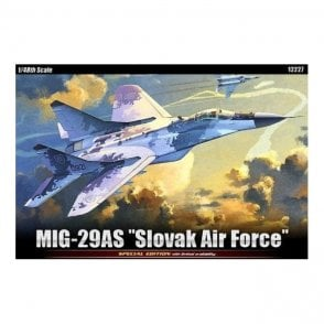 "Academy 1:48 MiG-29AS ""Slovak Air Force"" Aircraft Model Kit"