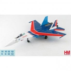 "Hobby Master 1:72 Su-35S Flanker E ""Russian Knights"", Russian Air and Space Force (VKS), Nov. 2019 ( Decals Inc.)"