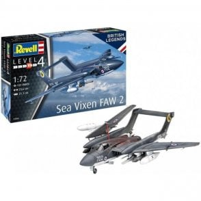 Revell 1:72 British Legends: Sea Vixen FAW 2 70th Anniversary Aircraft Model Kit