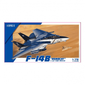Great Wall Hobby 1:72 F-14B Bombcat Aircraft Model Kit