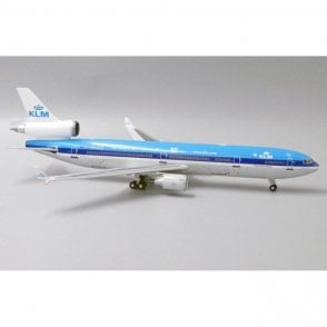 "JC Wings 1:200 McDonnell Douglas MD11 KLM ""The world is just a click away"" - Reg PH-KCE"