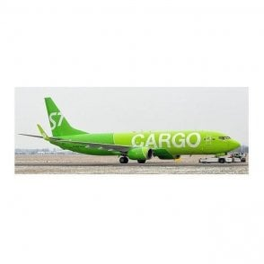 JC Wings 1:200 Boeing 737-800 BCF S7 Cargo (Flaps Down) - Reg VP-BEN